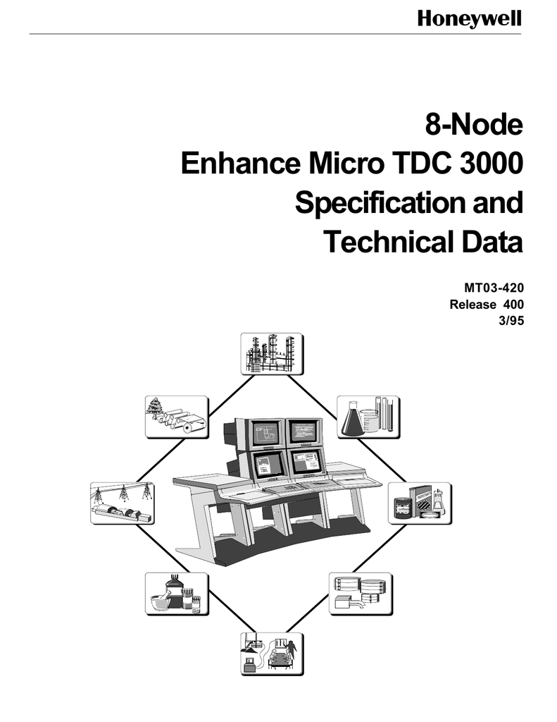 8-Node Enhance Micro TDC 3000 Specification and Technical