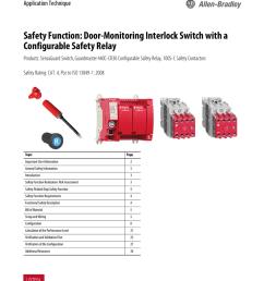 safety function door monitoring interlock switch [ 791 x 1024 Pixel ]