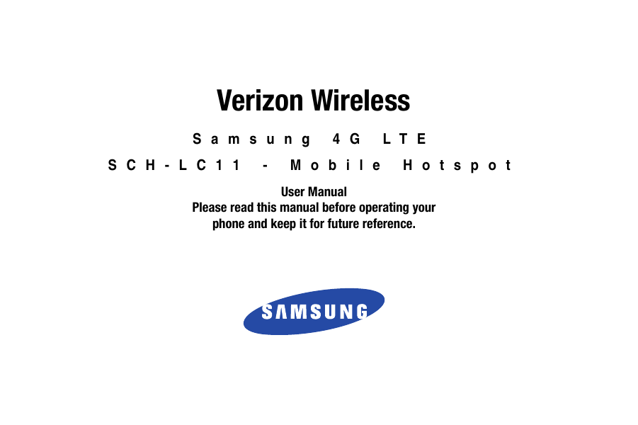 Bestseller: Verizon Wireless Phone Manual