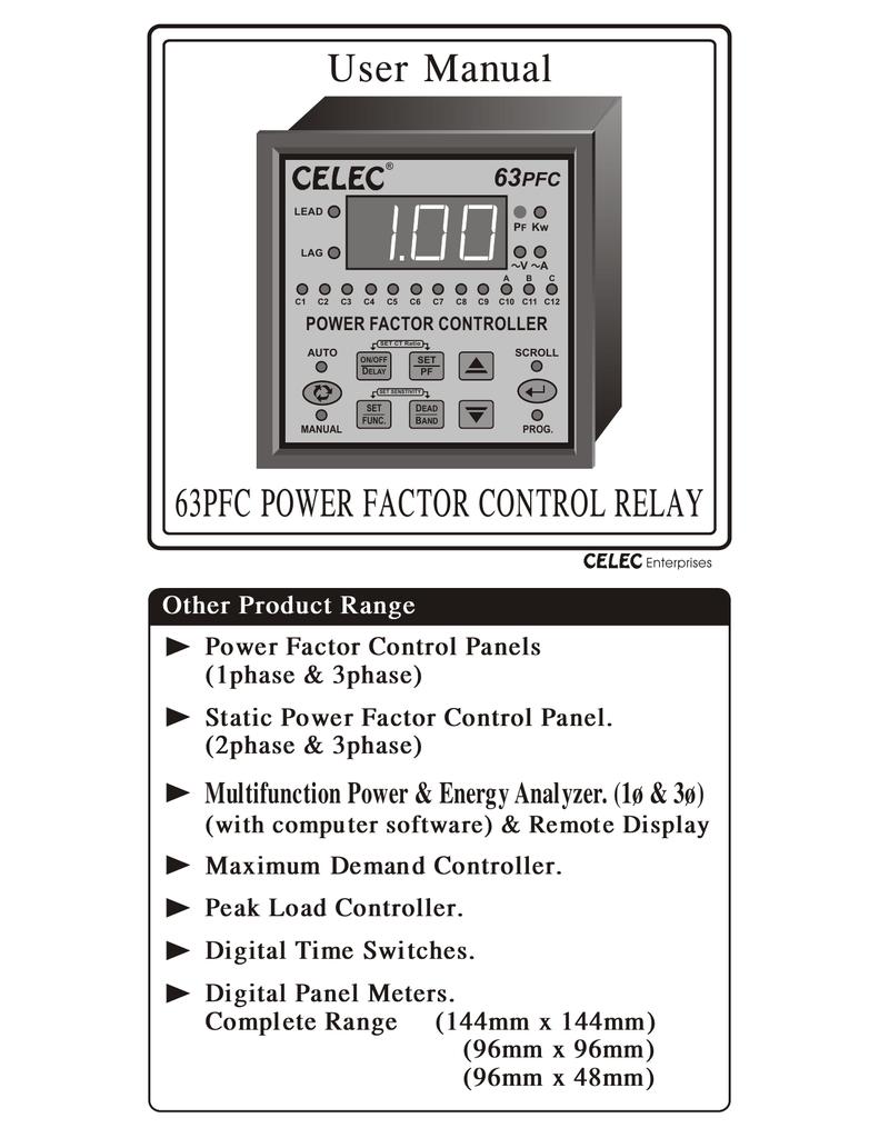 medium resolution of user manual apfc relay cat no 63 pfc