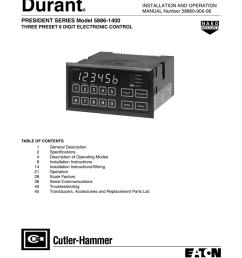 president series model 58861400 user manual [ 791 x 1024 Pixel ]