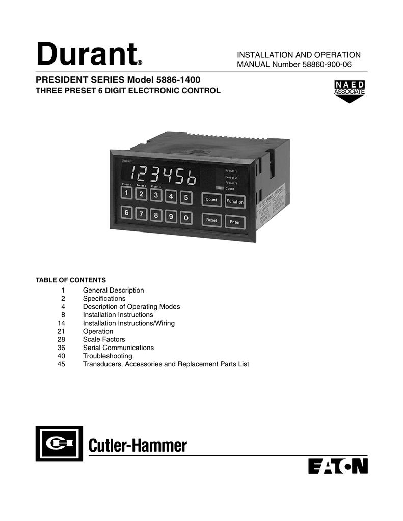medium resolution of president series model 58861400 user manual