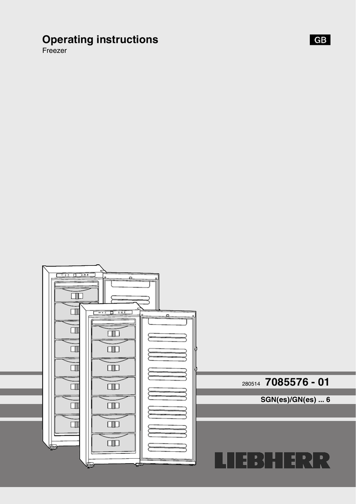 679L Liebherr Side by Side Fridge PKSBSES7253 User Manual