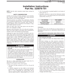 two speed furnace control replacement kit installation [ 791 x 1024 Pixel ]
