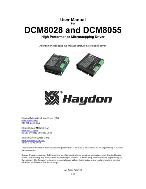 small resolution of haydon stepper motor wiring diagram