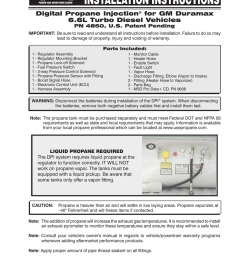 digital propane injection for gm duramax 6 6l turbo diesel [ 791 x 1024 Pixel ]