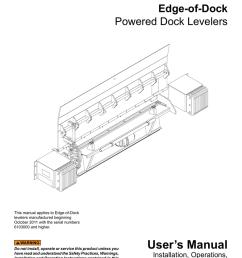 user s manual curlin inc manualzz com dock leveler curtain dock leveler schematic [ 791 x 1024 Pixel ]