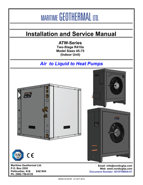small resolution of atw series manual nordic geothermal heat pump