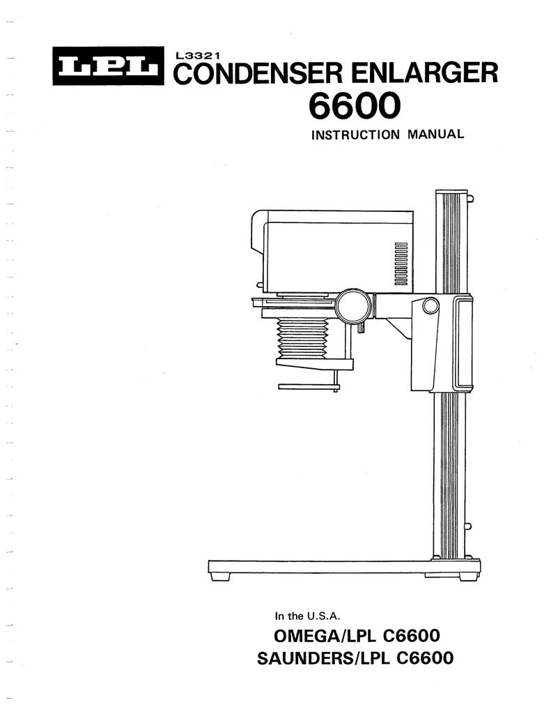 Lpl Enlarger Manual