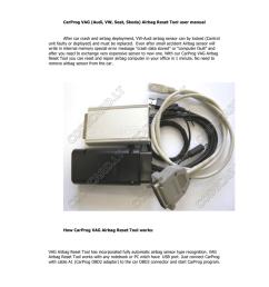 array carprog vw audi airbag reset manual manualzz com rh manualzz  [ 791 x 1024 Pixel ]