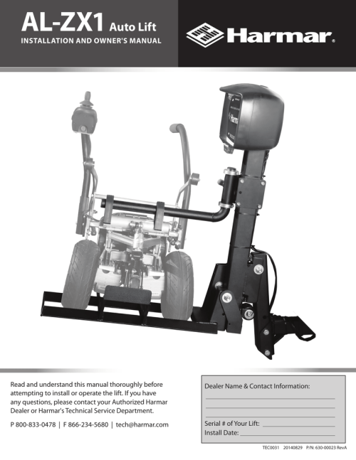 small resolution of  install manual lift chair usa manualzz com on harmar mobility parts harmar
