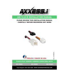axi tl10 r installation manual [ 791 x 1024 Pixel ]