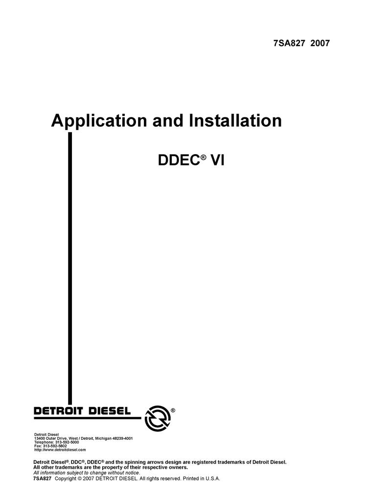 Detroit Sel Wiring Diagram - on