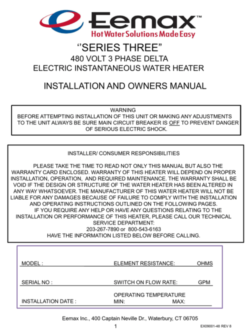 small resolution of  diagram instructions for 3 phase manualzz com on 480 volt relay 24 volt wiring