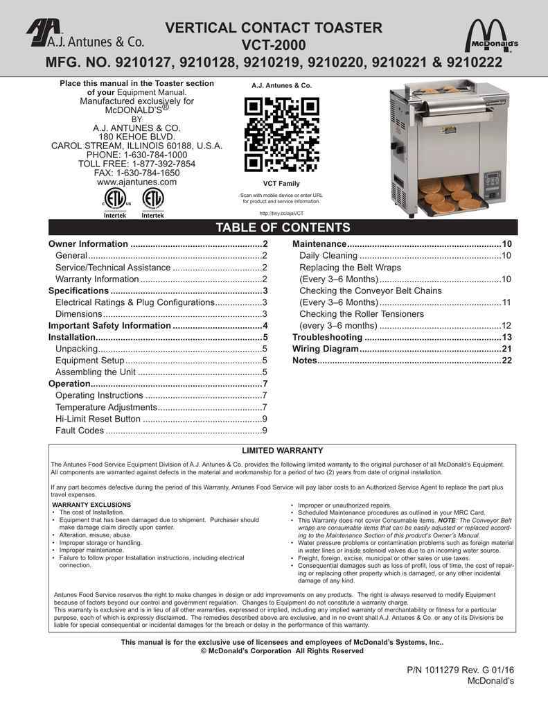 medium resolution of vertical contact toaster