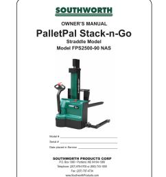 southworth lift table wiring diagram [ 791 x 1024 Pixel ]