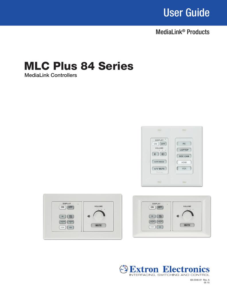 medium resolution of mlc plus 84 series user guide