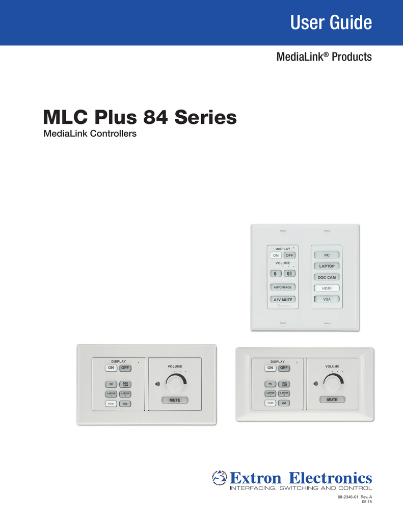 hight resolution of mlc plus 84 series user guide