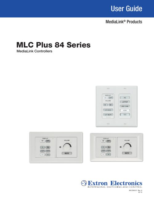 small resolution of mlc plus 84 series user guide