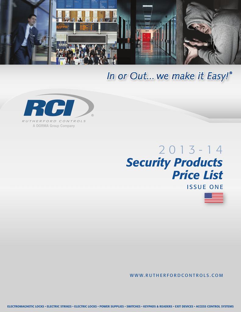 hight resolution of rci product catalog