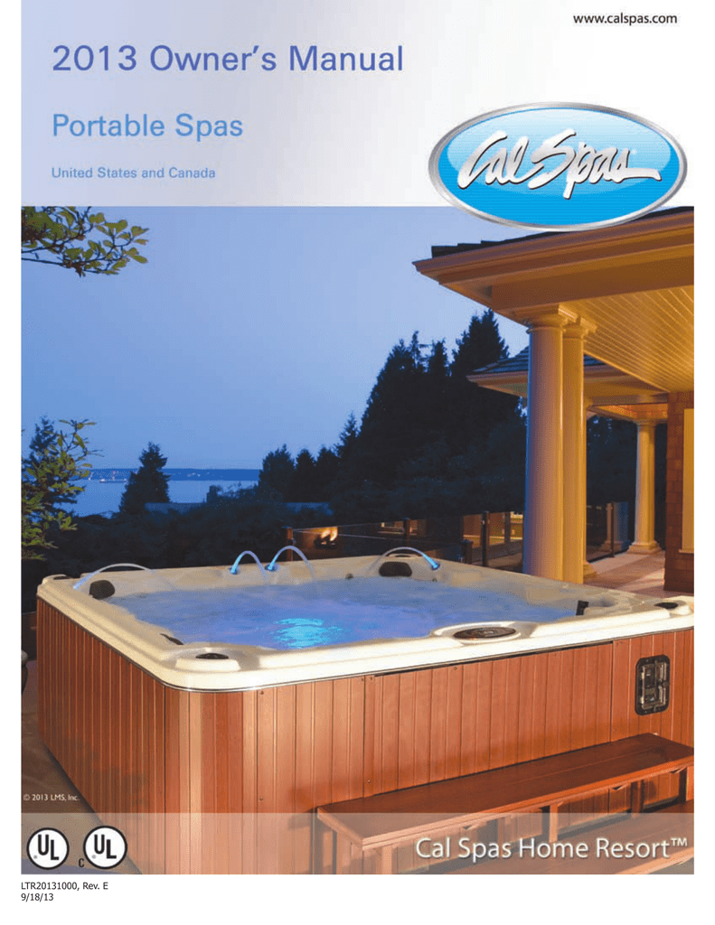 medium resolution of 2013 portable spa owner s manual