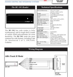 bc 301 bar code reader [ 791 x 1024 Pixel ]