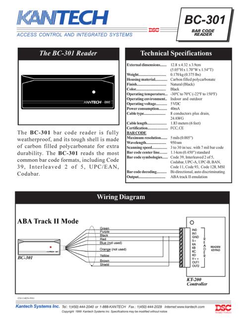 small resolution of bc 301 bar code reader