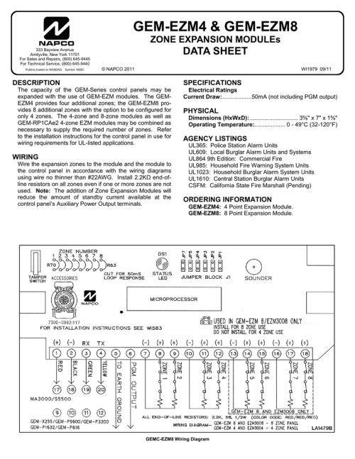 small resolution of gem ezm8 wiring diagram