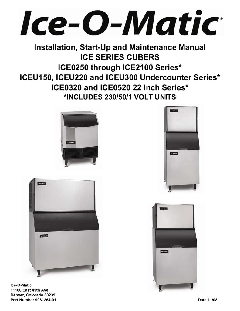 hight resolution of ice o matic ice0405 b40 user manual