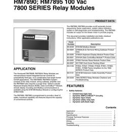 rm7890 rm7895 100 vac 7800 series relay modules product data wiringinternal block diagram of rm7895 relay module [ 791 x 1024 Pixel ]