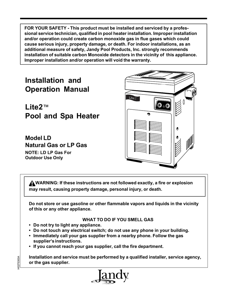 medium resolution of  wiring diagram heater chauffe eau jandy lite2 ld manuel d installation et d op ration on