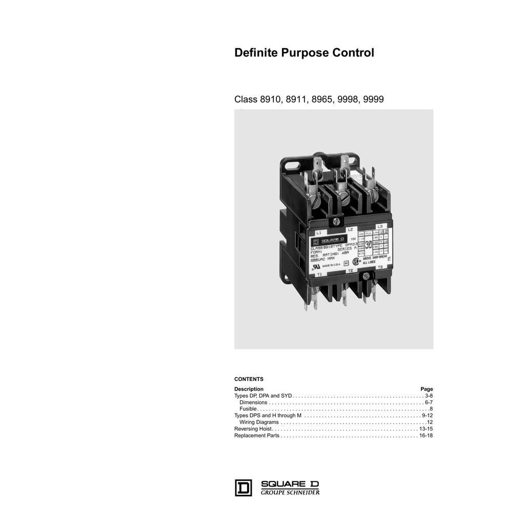 hight resolution of nema definite purpose contactors and starters