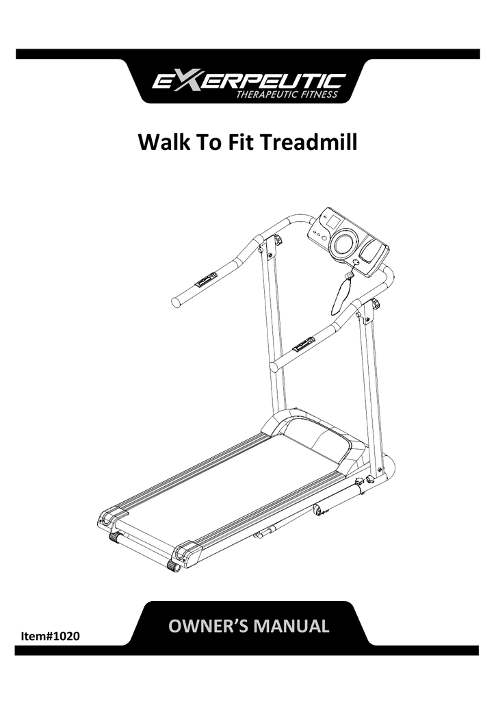 Exerpeutic TF1000 High Capacity Walk to Fit Electric