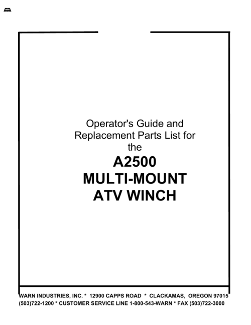 small resolution of a2500 multi mount operator s manual