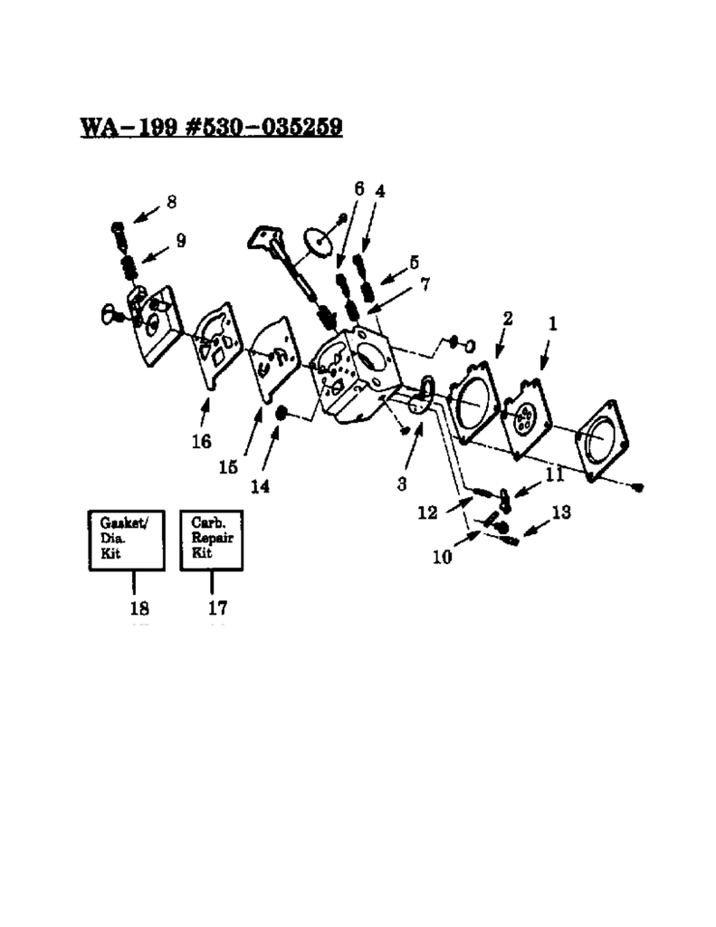 hight resolution of weed eater gti 18t