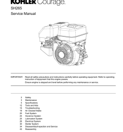 kohler engine service manual [ 791 x 1024 Pixel ]