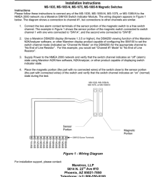 ms 1035 ms 1055 n md 1075 ms 1085 n magnetic switches installation instructions sim100 accessory pdf manualzz com [ 791 x 1024 Pixel ]