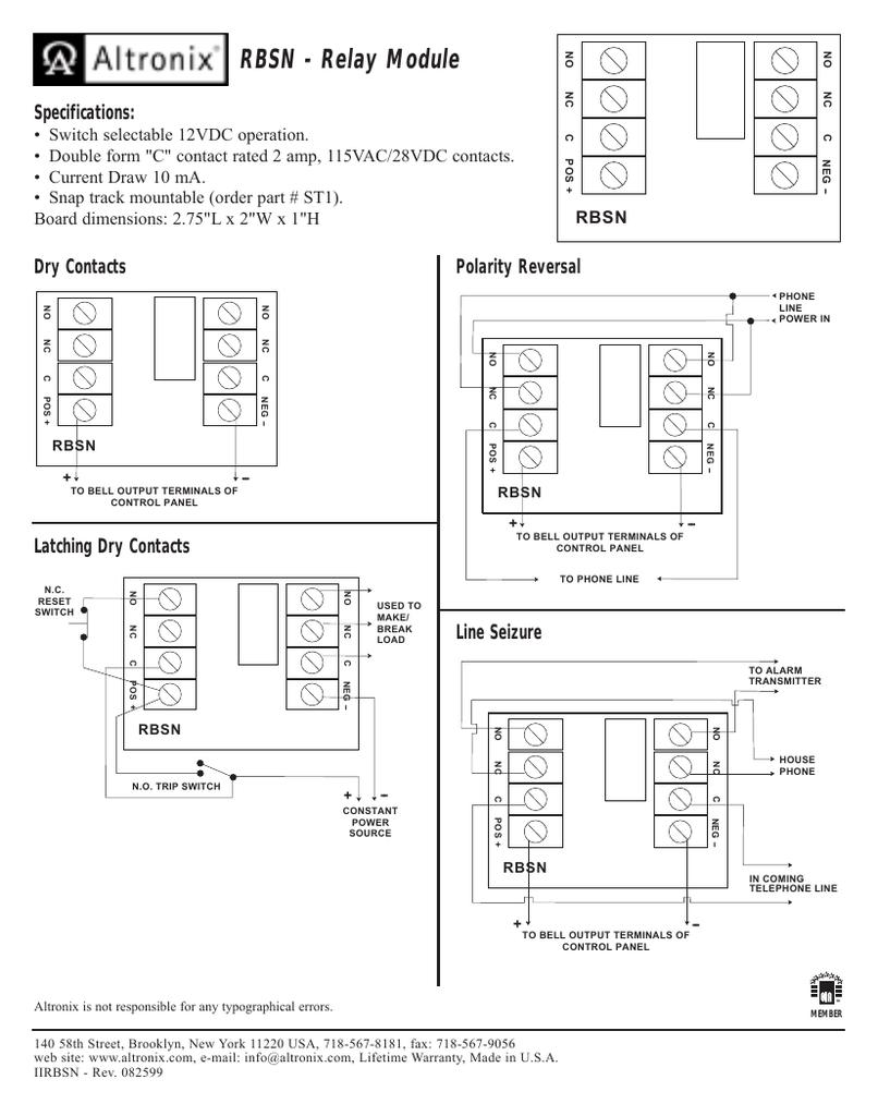 hight resolution of rbsn relay module