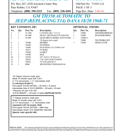 p n 50 3101 p o box 247 4320 aerotech center way paso robles ca 93447 telephone 800 350 2223 fax 805 238 4201 old part no 711031 ls page 1 of 3  [ 791 x 1024 Pixel ]