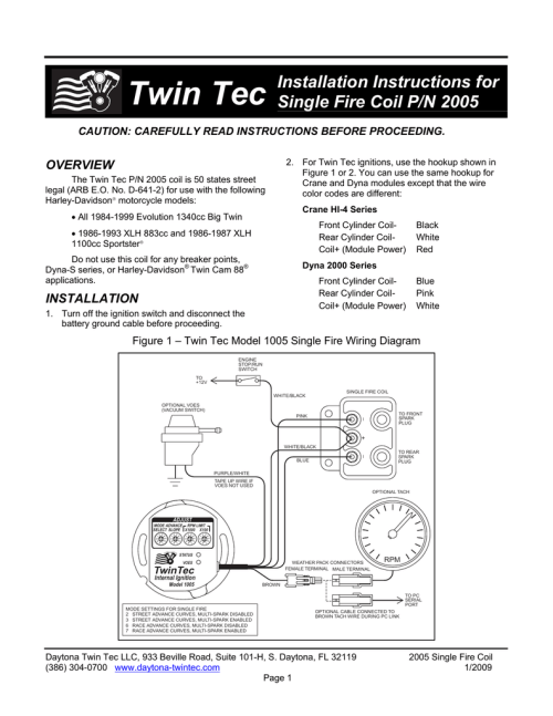 small resolution of single fire coil instructions