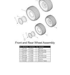 3 1 2 8 6 8 7 4 5 front and rear wheel assembly ref mtd part no toro part no qty description 1 734 1730 112 0713 1 multi trac 2 734 0603a 112 0448  [ 791 x 1024 Pixel ]