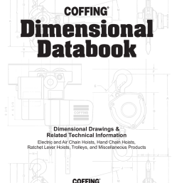 coffing hoist and trolley dimensional databook [ 791 x 1024 Pixel ]