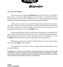 warrior operator parts 181464 m 063006 ezkw2560s ezkw2554s ezbr2660s ezkh2754s ezkh2760s 000753 [ 791 x 1024 Pixel ]