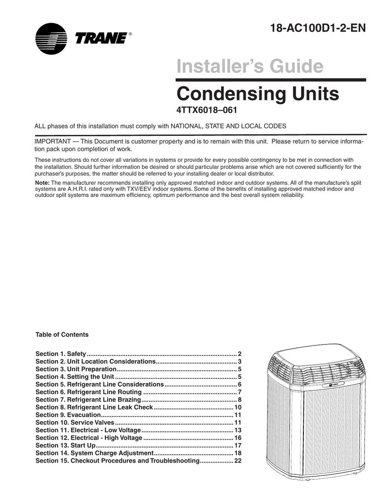 medium resolution of trane xl16i install manual