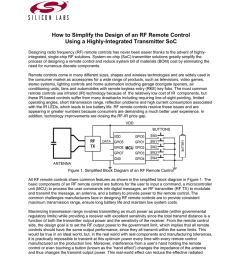 designing an rf remote control white paper [ 791 x 1024 Pixel ]