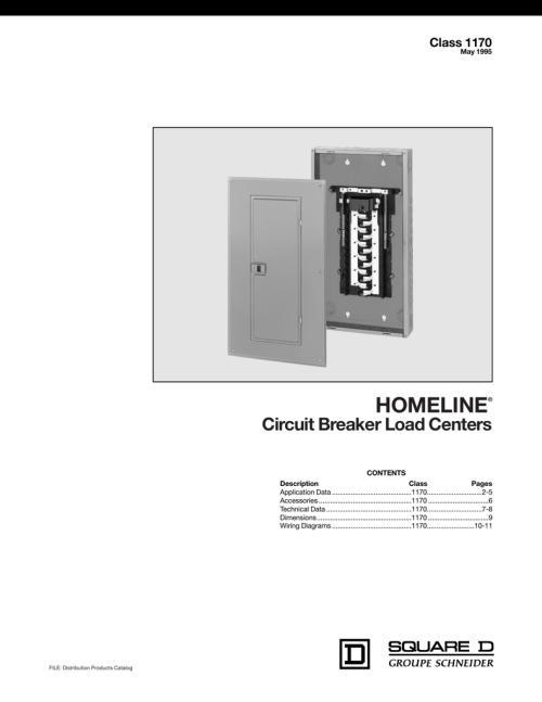 small resolution of homeline load centers