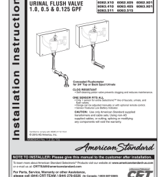 american standard urinal wiring diagram [ 791 x 1024 Pixel ]