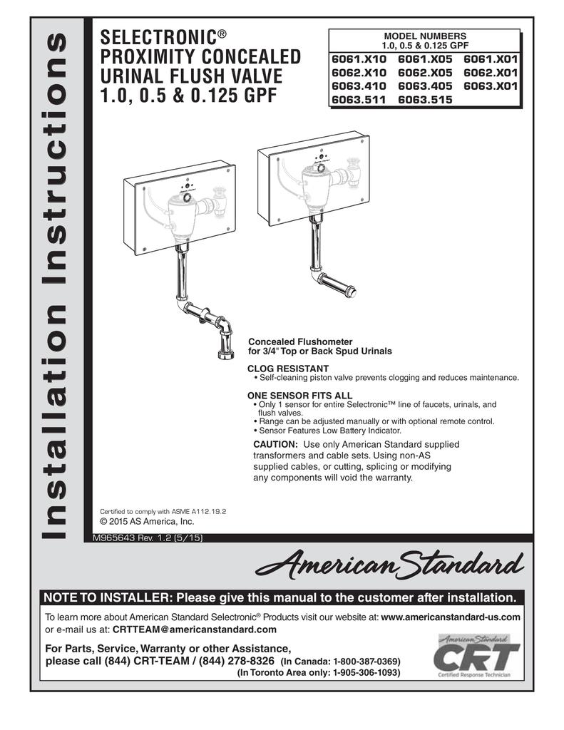 hight resolution of american standard urinal wiring diagram