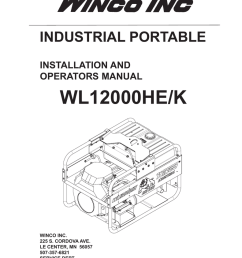 wl12000he k industrial portable installation and operators manual [ 791 x 1024 Pixel ]