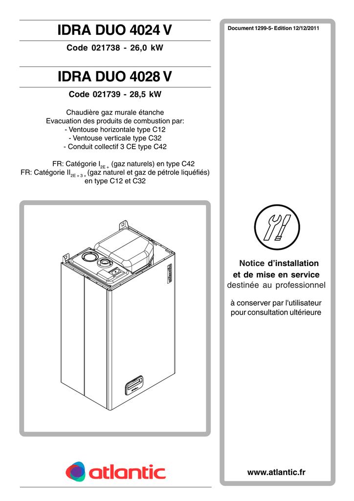 Idra Duo 4000 V Notice Installation Manualzz
